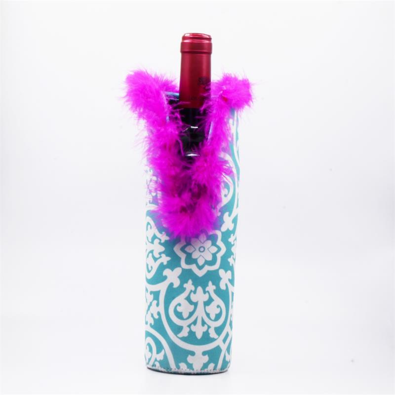 2018 New Arrival Wine Bottle Cover For Party Wine Bottle Cooler Neoprene Wine Bottle Sleeve