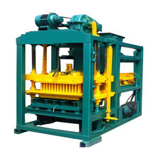Professional brick game auto bricks field cement block maker 4-25C made in China