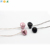 best fashion metal Mushroom head earphone with mic for smart mobile phone