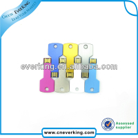 wholesale 2014 promotional gift key shaped usb stick with custom logo