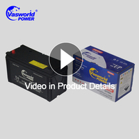 Good quality and cheaper Japanese standard dry charged car battery N100 12V 100AH