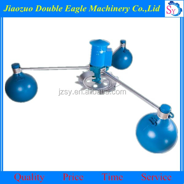 ball float fish pond shrimp farming pond aerator machine for sale/fish floating ball aerator