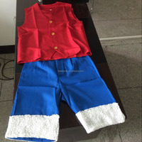 walson instyles unisex One Piece Cosplay costumes Luffy Costumes