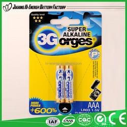 1.5v golden power alkaline battery/aa alkaline battery