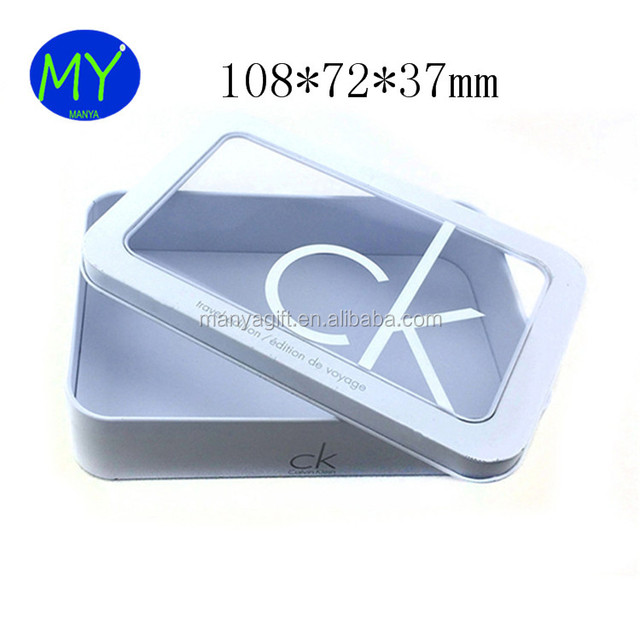 Dongguang Factory Wholesale Underwear T-shirt Sock OEM Tin Box