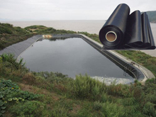 HDPE Geomembrane Liner for fish farm pond