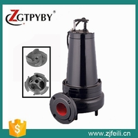 WQK series sewage submersible pump submersible sewage cutter pump vertical centrifugal pump