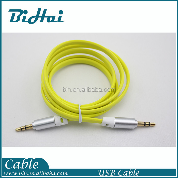 New 3.5mm Male to Male Stereo Audio Jack AUX Auxiliary Cable for iPod