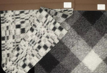 Premium knitted wool fabric by the yard