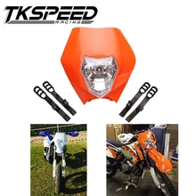 Dirt Bike Motocross Supermoto Universal motorcycle headlight for KTM SX EXC