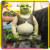KANO6095 Customized Decoration Handmade Cartoon Fiberglass Shrek
