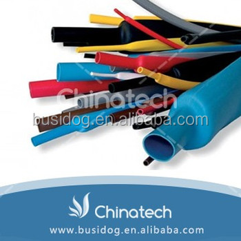 Hot sale 4:1 ratio insulation type 40mm colorful heat shrink tube