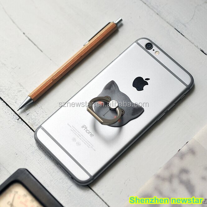 Finger Grip Rotating Ring Stand Holder for Mobile Phones from shenzhen newstar