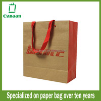 Best quality factory direct cheap kraft brown paper bag