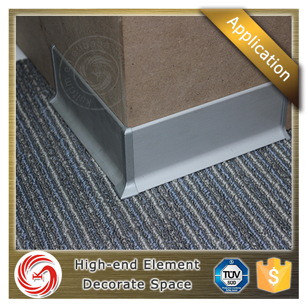 High quality multifunctional outdoor aluminum ceramic skirting board