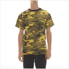 OEM Custom Military Camouflage Clothing Wholesale Mens Short Sleeve Camo T Shirt