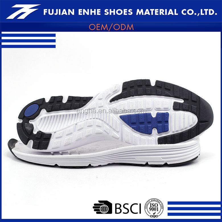 Professional mens soft shoe sole manufacturers for sports shoes