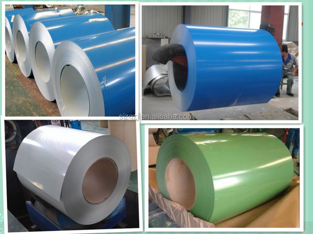 various colors and zinc rate ppgi color coated aluminum steel coil