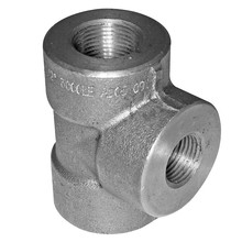 carbon steel reducing tee socket welded