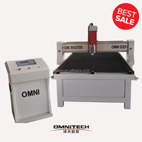 OMNI 1325 low cost high quality gantry cnc plasma cutting machine