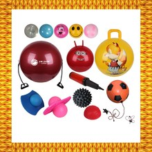 Quadrate handle jumping ball health balls