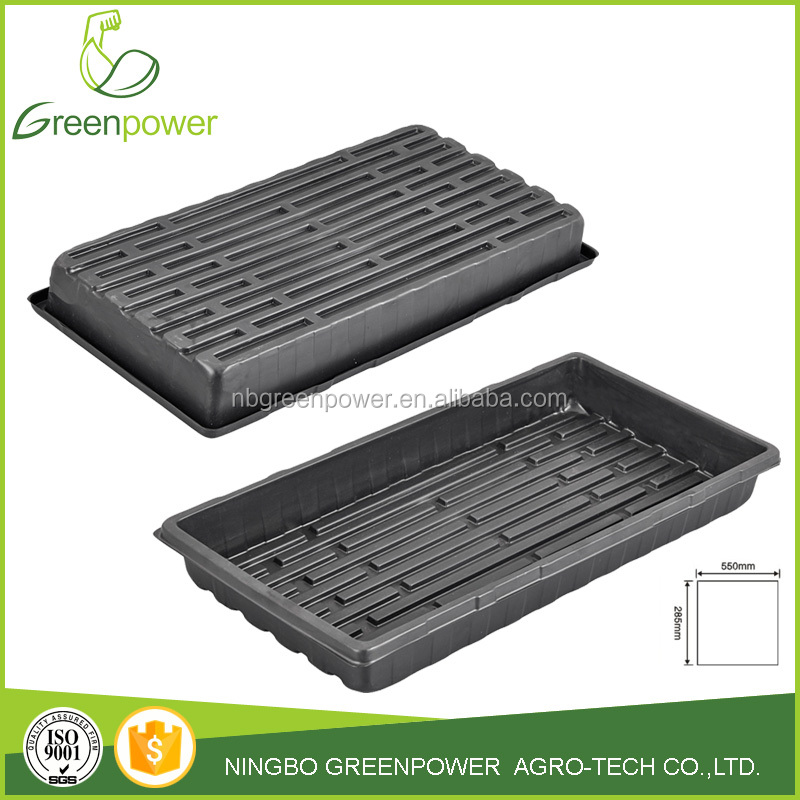 Flat Plant Growing Trays/Seed Starter Grow Trays
