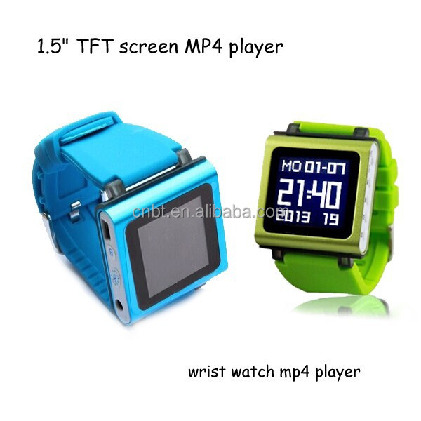 High Quality Pedometer + Clock Mp4 Player