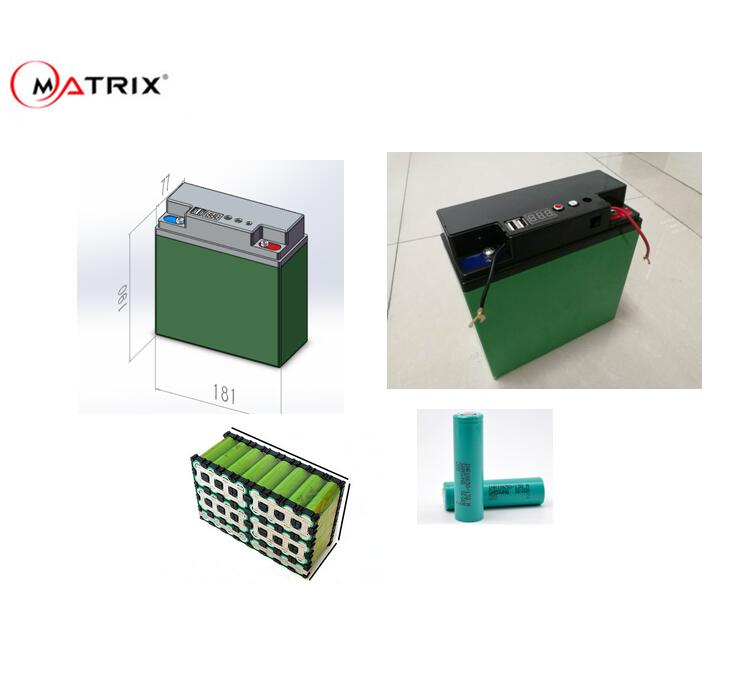 12V 50Ah Li Ion Battery for Lead Acid Replacement Lithium 18650 for solar application