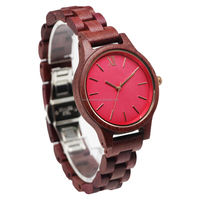 2017 fashion high quality low moq factory wholesale wood watch men women bamboo wrist watch customized with your logo oem