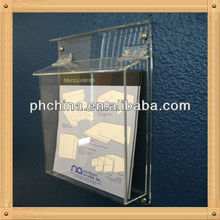 An-c637 European Design Factory Hot Sell Clear Furniture Book Rack Design/Library Book Rack/Plastic Book Racks