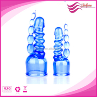 Best sell TPE wand attachment for av magic massager,chinese girl make love