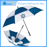 Professional design Straight Windproof solar umbrella fan