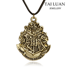 Famous movie jewelry harry potter leather cord necklace