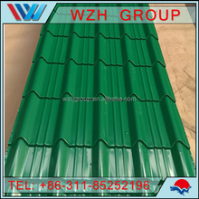 800mm/940mm Color Coating Galvanized Corrugated Steel Roof Sheet