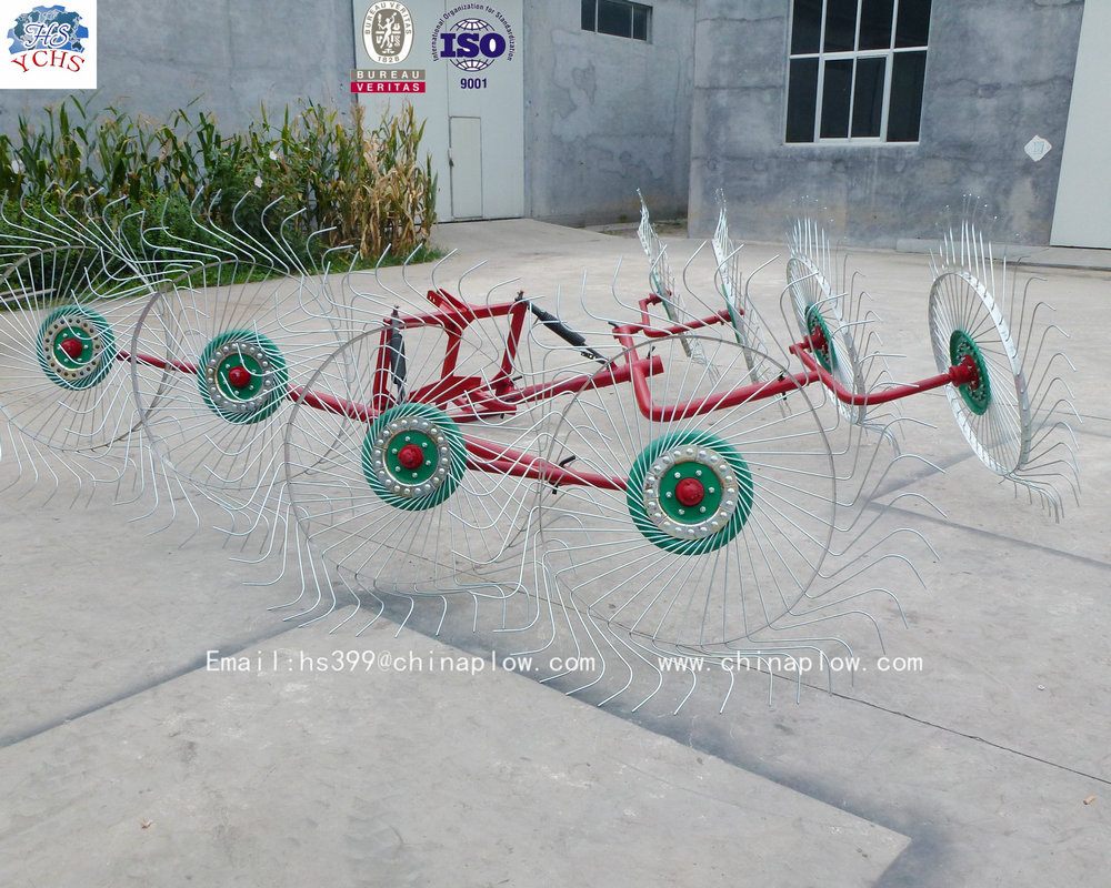 Top quality tractor thee point hay rake factory direct manufacturer