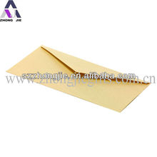 Recycled paper brown kraft paper envelope with custom LOGO print