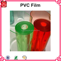 factory pvc film clear/decorative pvc film for furniture/clear rigid pvc film for vacuum forming