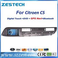 ZESTECH car audio dvd player for Citroen C5 car dvd radio tv gps navigation