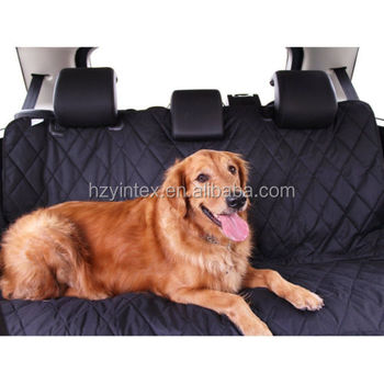 Big Seat Cover Mat Rear Back Car Pet Dog Travel Waterproof Bench Protector Black