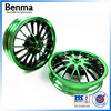 Motorcycle body parts alloy wheel , aluminum spoke rims wholesale