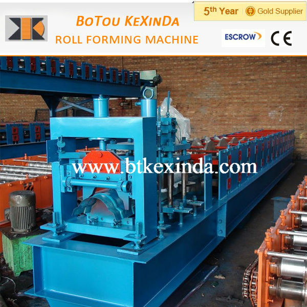 aluminium profile making machine for roof ridge cap