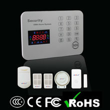 Special Offer!! GSM SMS Wireless LED Touch Smart Security Alarm System with APP & Android Operation(Language can be selected)