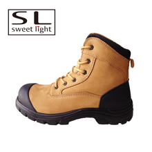 Steel toe engineering working safety shoes
