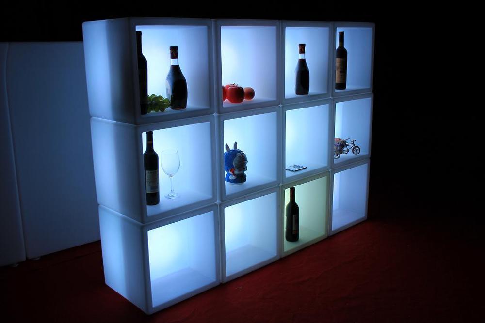 led bar furniture led cube plastic cube shelves led cubic tank rh alibaba com Walmart Cube Shelves buy plastic cube storage shelves