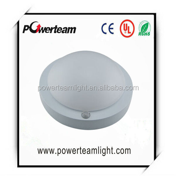 Radar/PIR induction Emergency 18W 75lm/w PC cover high transparency good heat dissipation Functional/standard led ceiling light