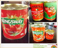 800g fresh canned/sachet tomato paste, ketchup,sauce