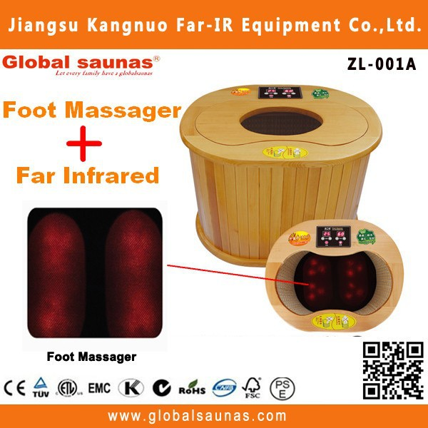 Health product Infrared Blood Circulation mini foot massage spa equipment