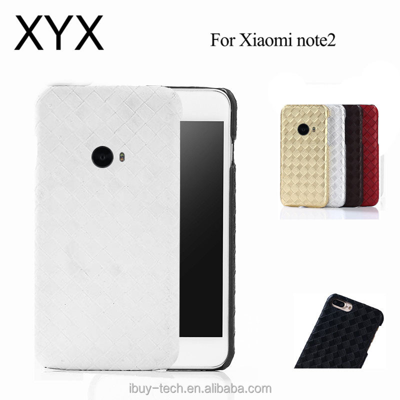 graceful convenient simple design hot selling latest technology pc leather case for xiaomi mi note 2