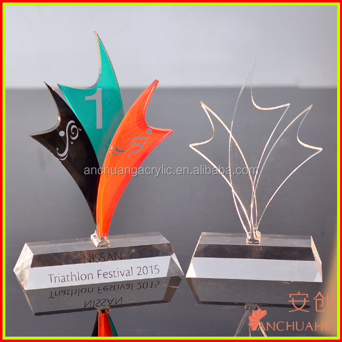 acrylic trophy with stand keywords