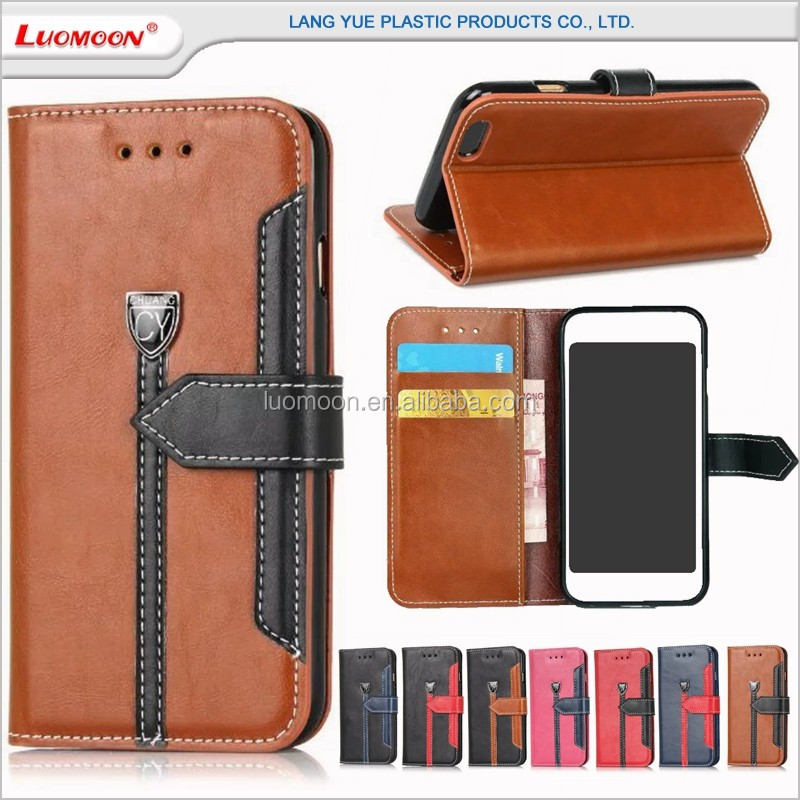 multifunction magnet buckle free mobile phone case cover for lenovo s820 a516